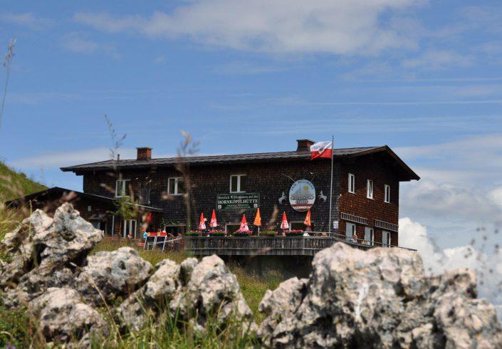 Hornköpflhütte im Sommer